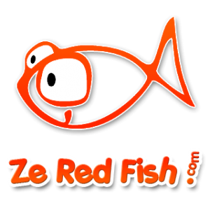 Logo Ze Red Fish !