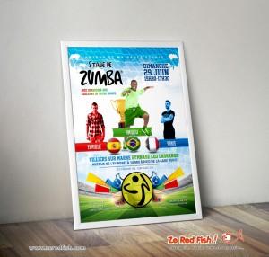 Affiche Stage de Zumba