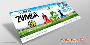 Evènement Facebook Stage de Zumba