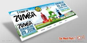 Timeline Facebook stage de Zumba