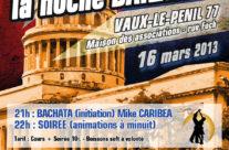 Flyer La noche Bailatina