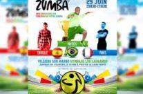 Flyer Stage de Zumba